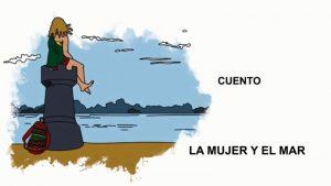 """Cuento """"La mujer y el mar"""""""