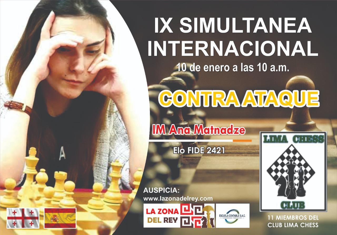 IX Simultánea Internacional de ajedrez