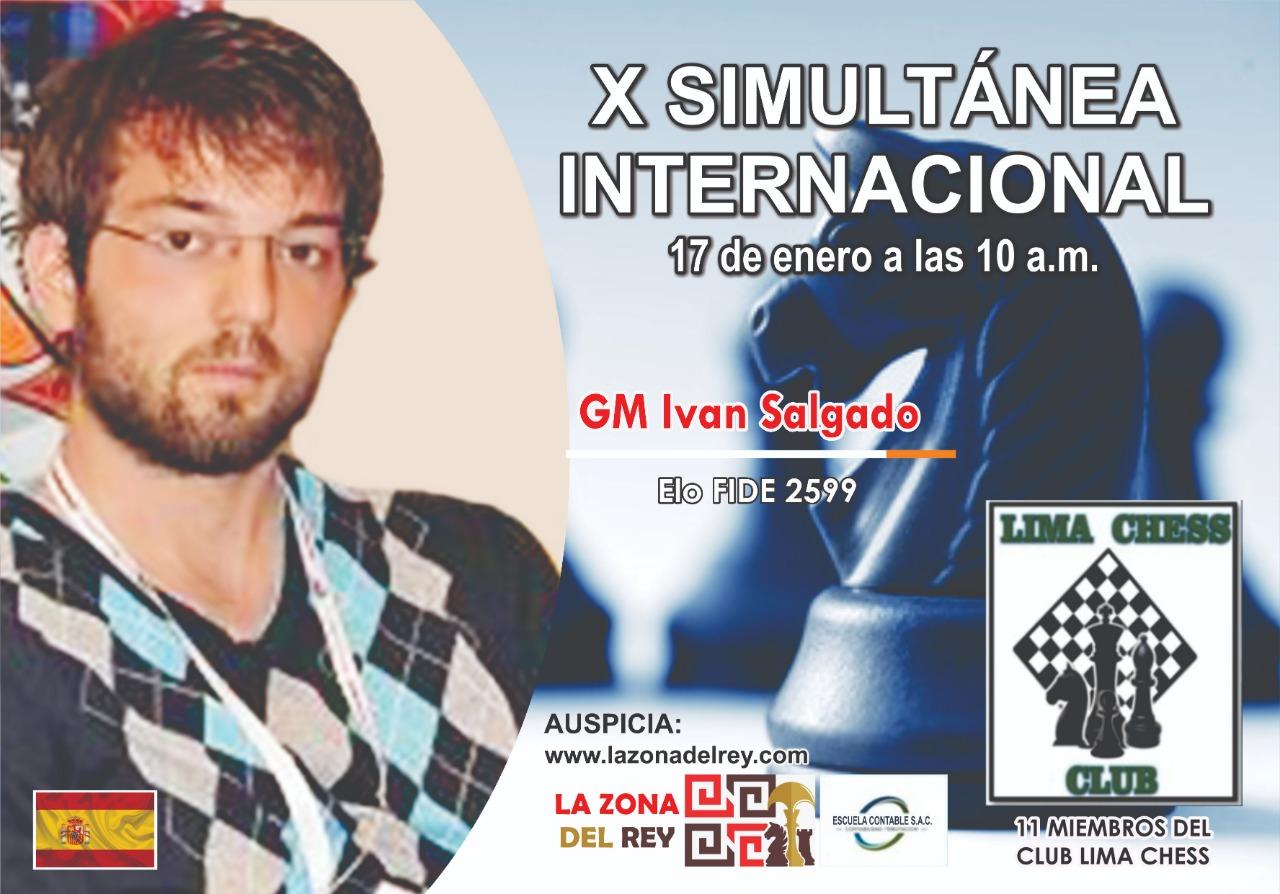 X Simultánea Internacional de ajedrez