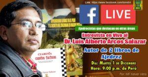 Entrevista al Dr. Luis Arcos